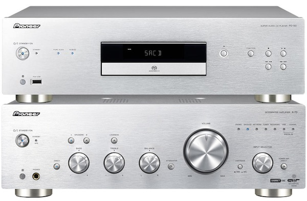 pioneer a70 pd50 silver
