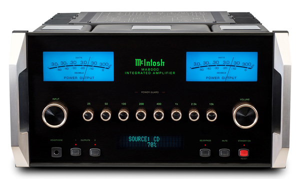 Mcintosh MA8000 front