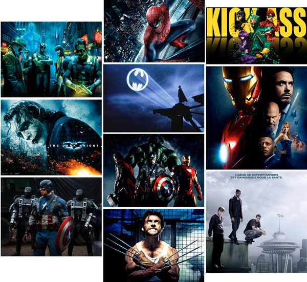 ON Top10ComicsMovies 2013
