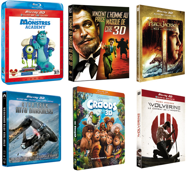 jaquettes selection- blu-ray 3d