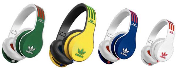 Les casques audio adidas Originals by Monster