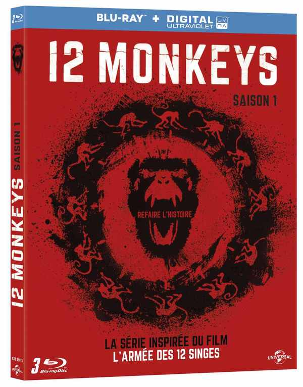 Blu-ray Twelve Monkeys S1