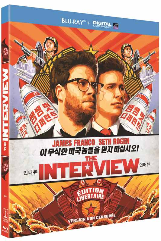 Blu-ray The Interview