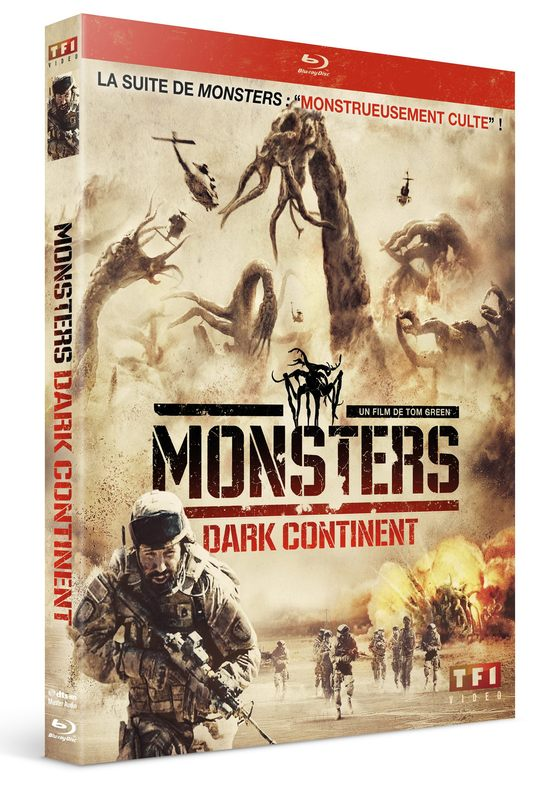 Blu-ray Monsters Dark Continent