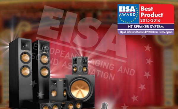 EISA Home Cinema Awards 2015-16