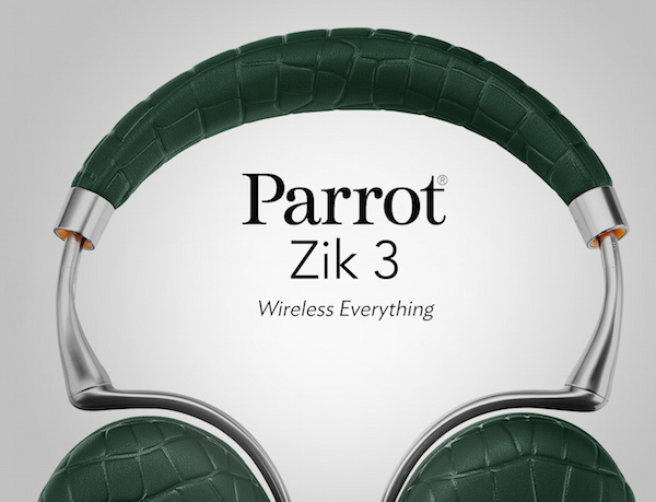 Zik 3 : Parrot présente son nouveau casque antibruit