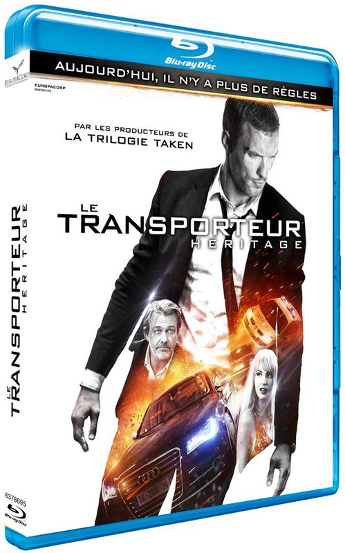 Blu ray Le Transporteur Heritage