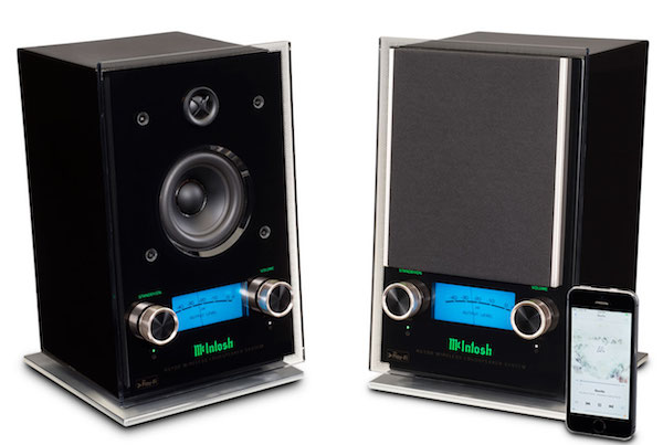 McIntosh XL RS100 Pair grille no grille phone