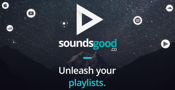 soundsgood pour faire des playlists communes soundcloud deezer spotify et youtube on mag. Black Bedroom Furniture Sets. Home Design Ideas