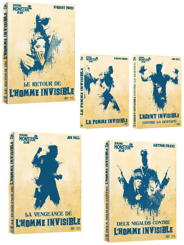 Blu ray DVD Hommes invisibles