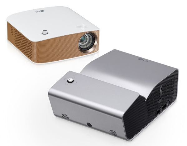 LG PH450U and LG PH150G Minibeam projectors image 1