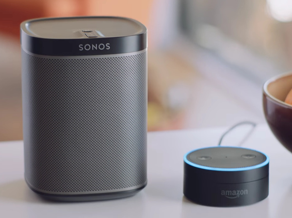 Sonos Amazon ALexa controle vocal