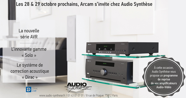 ARCAM demo AUDIOSYNTHESE