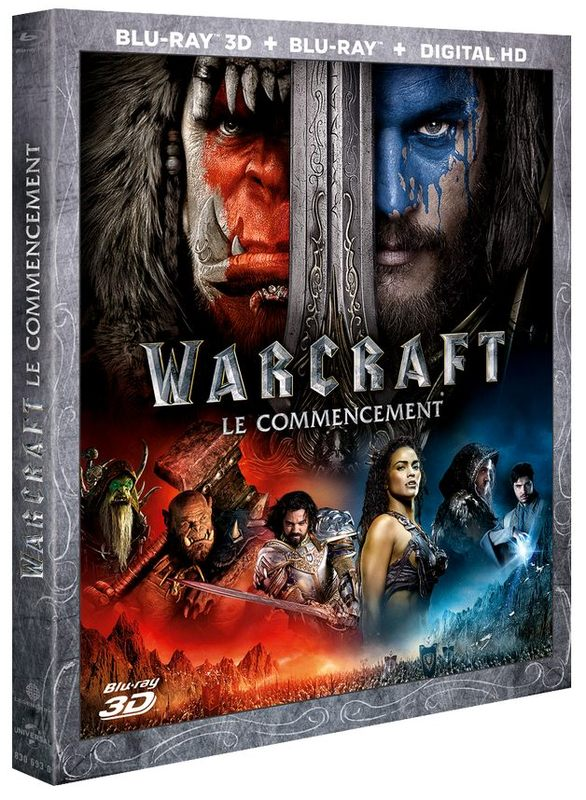 Blu ray Warcraft le commencement
