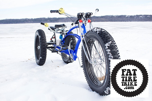 Fat tire trike tricycle electrique