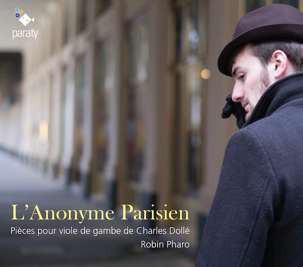 L Anonyme Parisien CD Robin Pharo