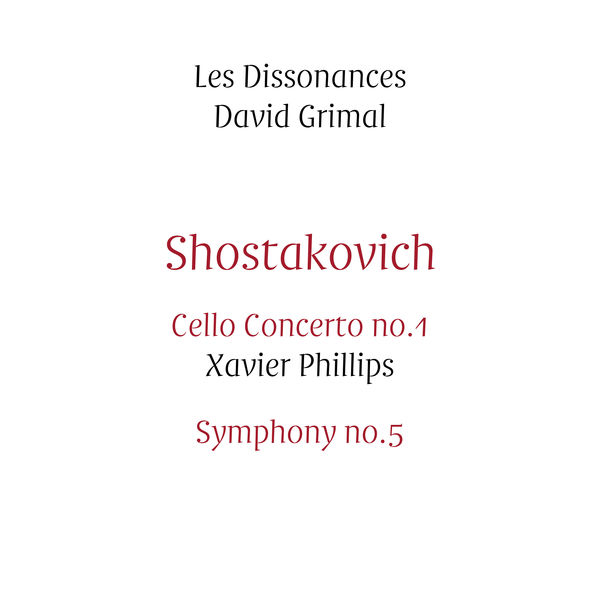 Shostakovitch concerto 1 Les Dissonances