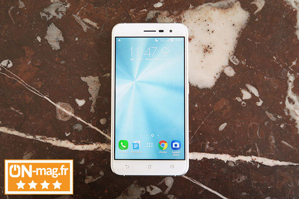 Asus Zenfone 3 test on mag