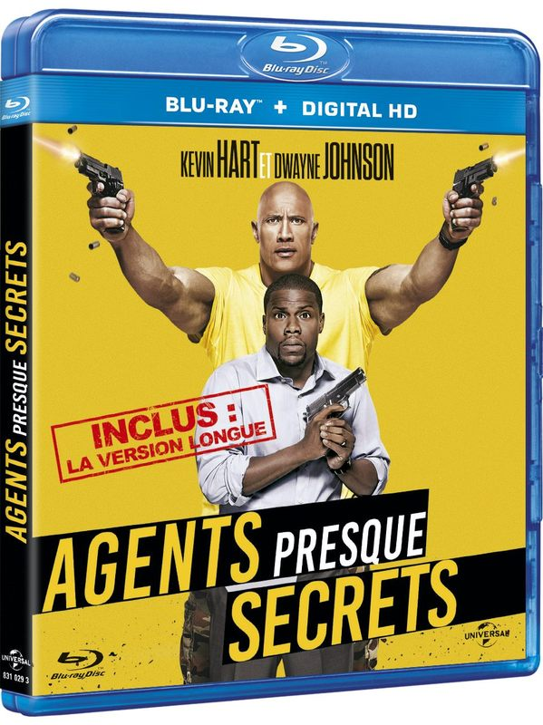 Blu ray Agents presque secrets