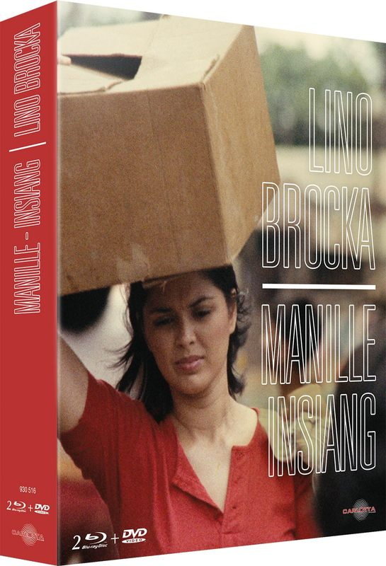 Blu ray Coffret Lino Brocka