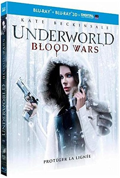 Blu ray Underworld Blood Wars 3D