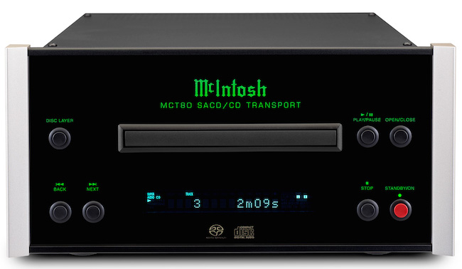 McIntosh MCT80 Front Top