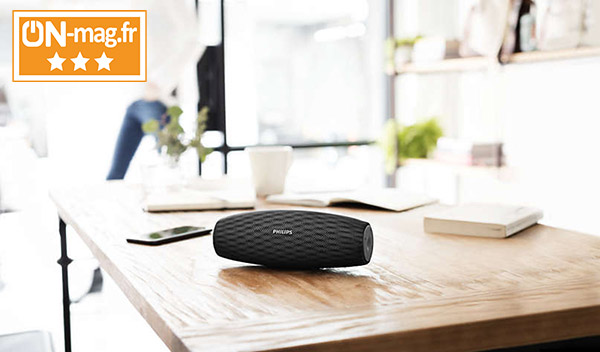 Test Philips Everplay BT7900 : une enceinte bluetooth étanche et consistante