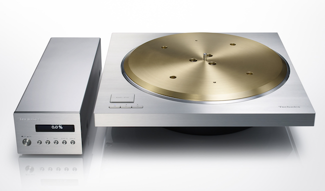 Technics SP10R Direct Drive Turnatable face