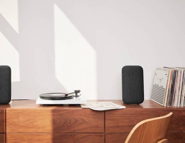 Google Home with vinyl turntable 2