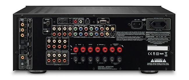 NAD T 758 AV connectique