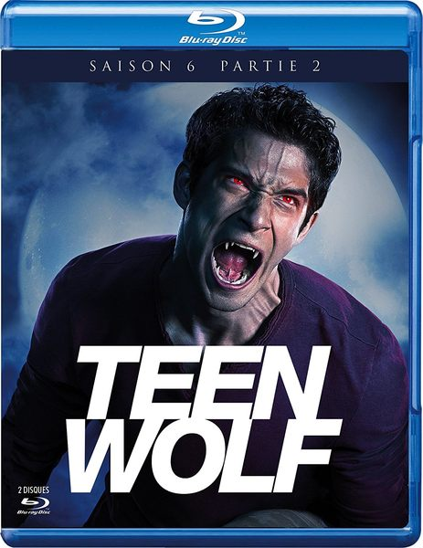 Blu ray Teen Wolf S2Part2