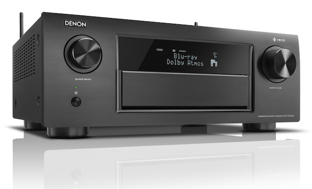 Denon AVR X6400H black right