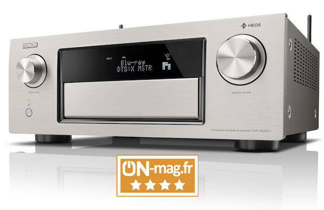 Denon AVR X6400H test ON mag