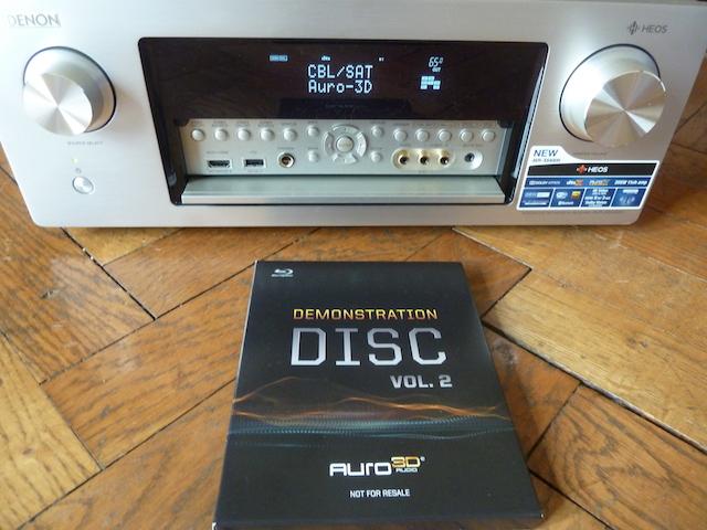 Denon AVR6400H Auro 3D
