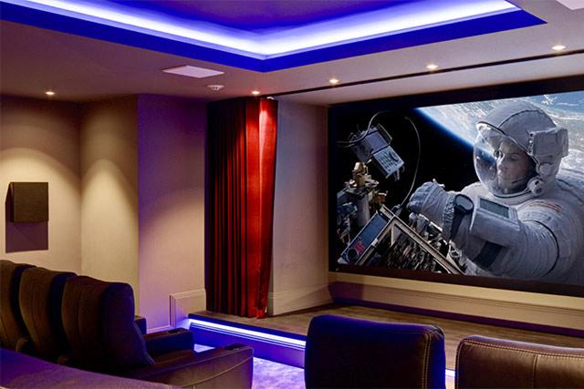 Mansion A/V de luxe : 4K dans toutes les pièces... y compris la ...