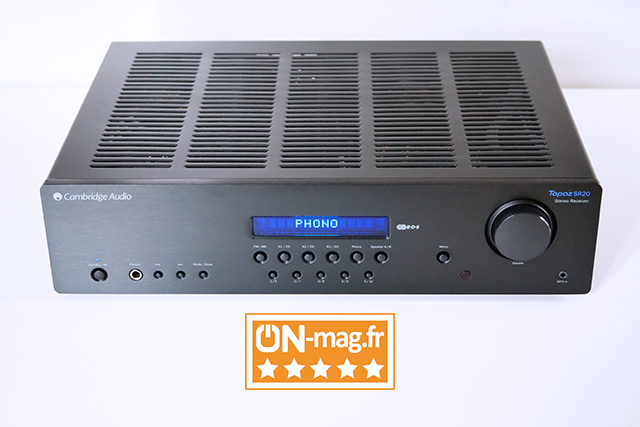 Test ampli intégré Cambridge Audio Topaz SR20