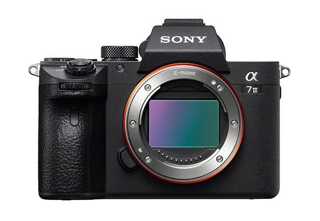 Sony a7III front