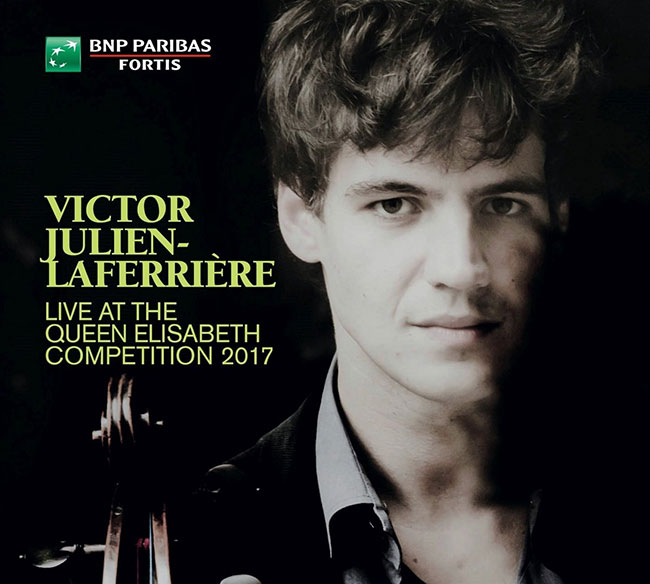 CD : Victor Julien-Laferrière live at the Queen Elisabeth Competition 2017