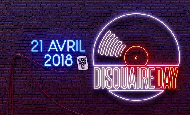 Disquaire day 2018 programme
