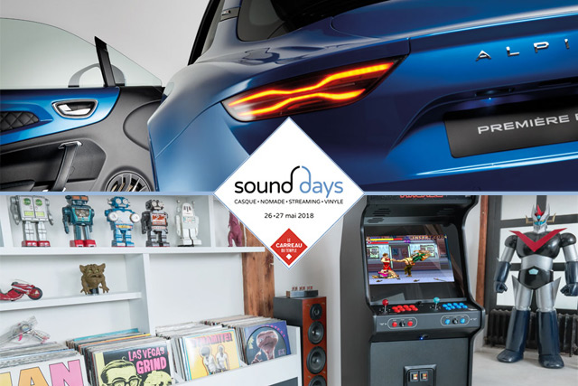 Sound Days 2018 : les animations, l'audio embarquée, le gaming et la zone vinyle
