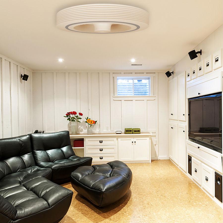 exhale fans lance un nouveau ventilateur de plafond sans. Black Bedroom Furniture Sets. Home Design Ideas