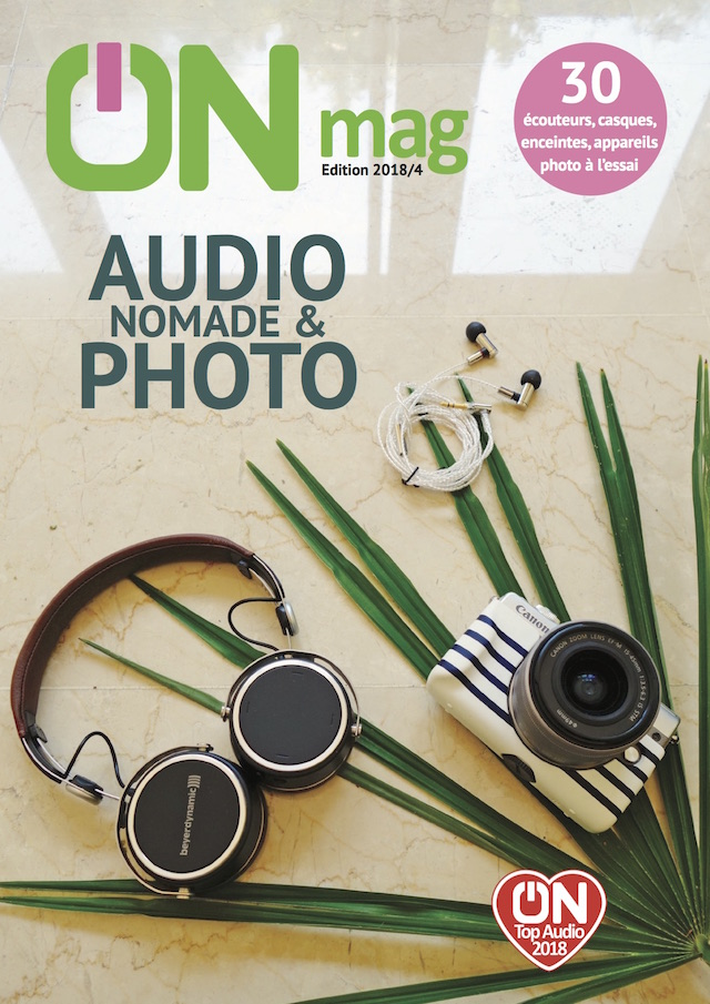 Couv ON mag audio nomade et photo 2018
