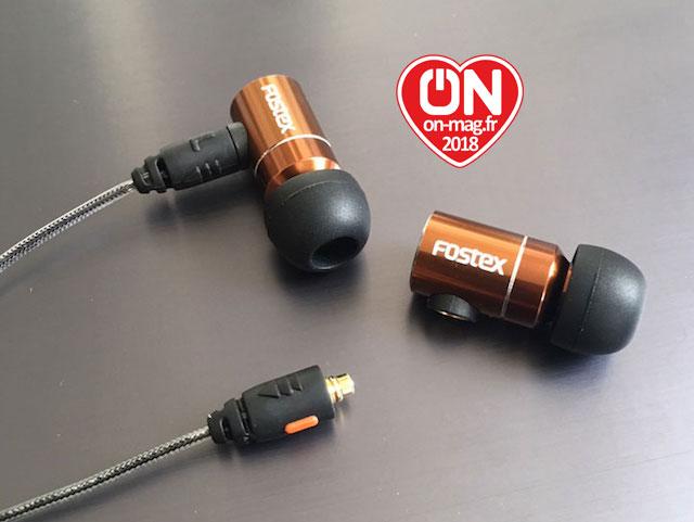 Test Fostex TE05 : des écouteurs intra-auriculaires