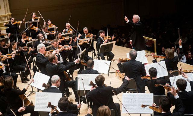 Concert A La Philharmonie De Paris Daniel Barenboim Et La