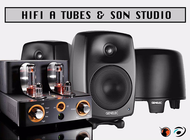 Salon Hifi tubes son studio