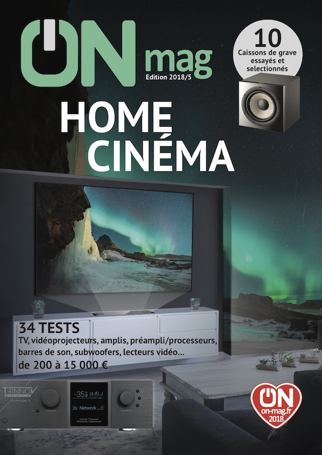 Couv ON mag Home Cinema 2018