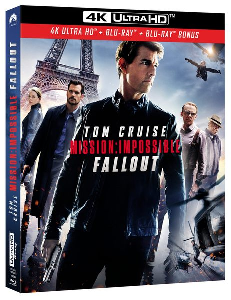UHD Mission Impossible Fallout