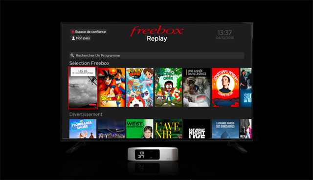 freebox one interface
