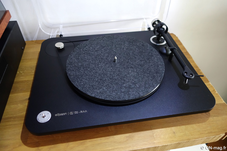 test elipson alpha 100 riaa une vraie bonne platine vinyle fabriqu e en france on mag. Black Bedroom Furniture Sets. Home Design Ideas