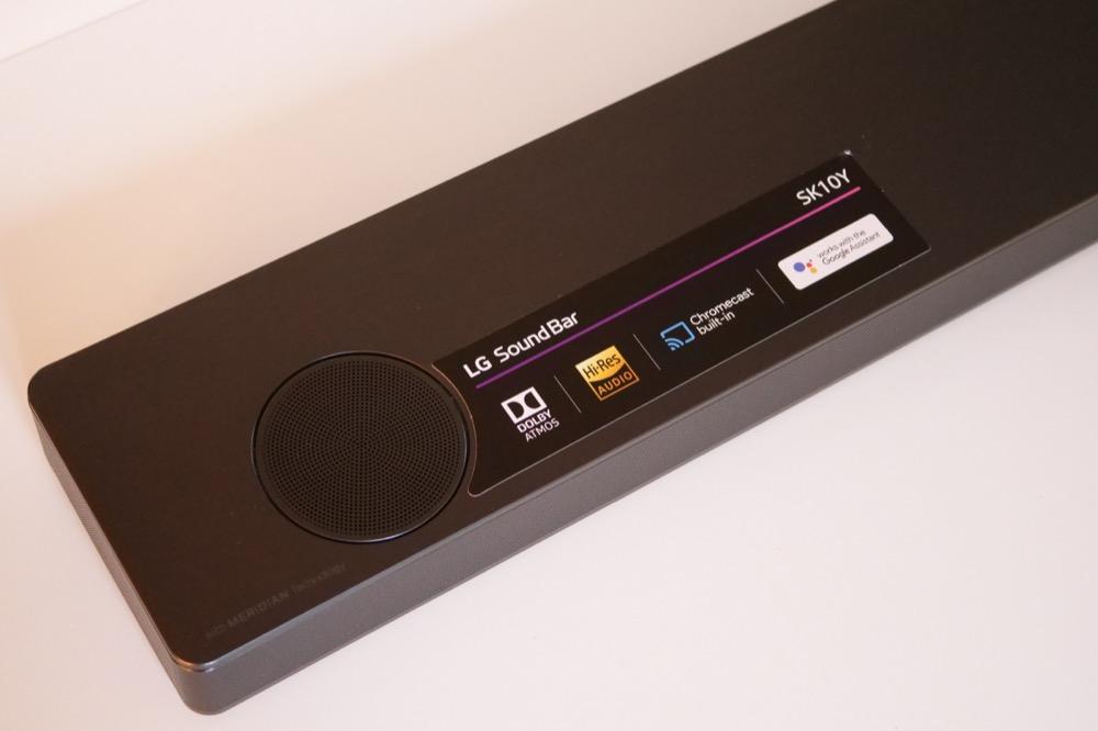 Test barre de son LG SK10Y : du son 3D immersif à grand
